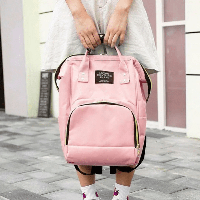 Рюкзак органайзер для мам Living Traveling Share Pink