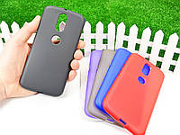 Силиконовый TPU чехол для Motorola Moto G4 Plus XT1642