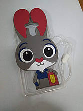 Чехол накладка Xiaomi Redmi 4 Prime кролик зайчик