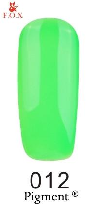 Гель-лак F.O.X Pigment 012, 6мл