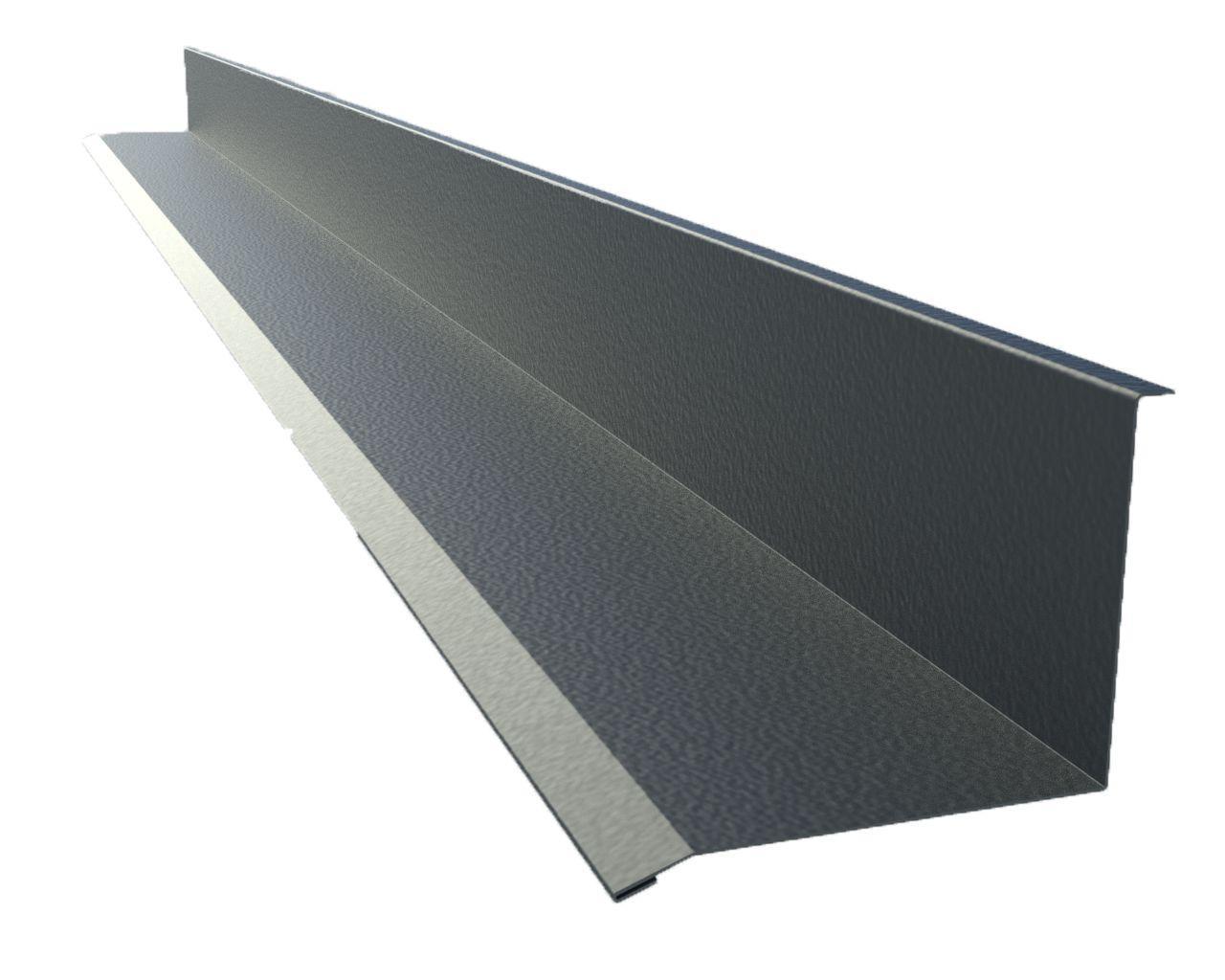 Планка примыкания металлочерепицы (длина 2 метра)