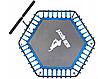 Батут для фитнеса с рукояткой 130 см, фото 7