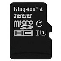Карта памяти Kingston 16 Gb microSDHC class10 высокая скорость передачи данных
