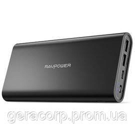 Внешний аккумулятор RavPower Power Bank 26800mAh USB-C/2xUSB Black (RP-PB067)