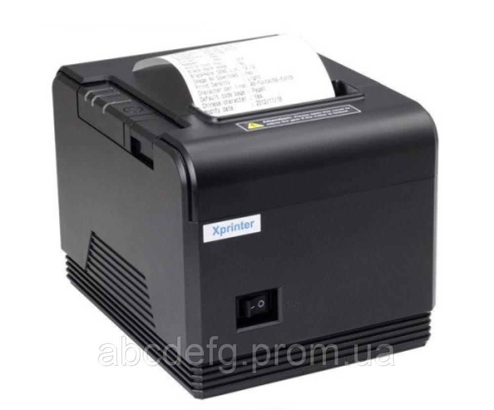 Принтер чеков Xprinter XP-Q260 III (USB+RS232+Ethernet)