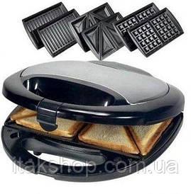 Тостер, бутербродница, вафельница, орешница (4 в 1) Livstar LSU-1219