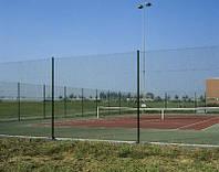 Сетка рабица в полимере для теннисных кортов высота 3000, 3500,4000мм, фото 1