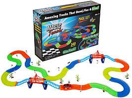 Гоночний Трек Magic Tracks 360 деталей glow track (з містками)