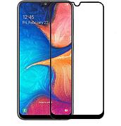 Защитное стекло 3D  для  Samsung A20  Black