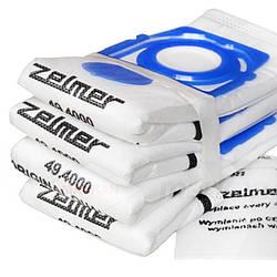 Набор мешков (4шт) SAFBAG + фильтр мотора ZVCA100B для пылесоса Zelmer 12006466_1