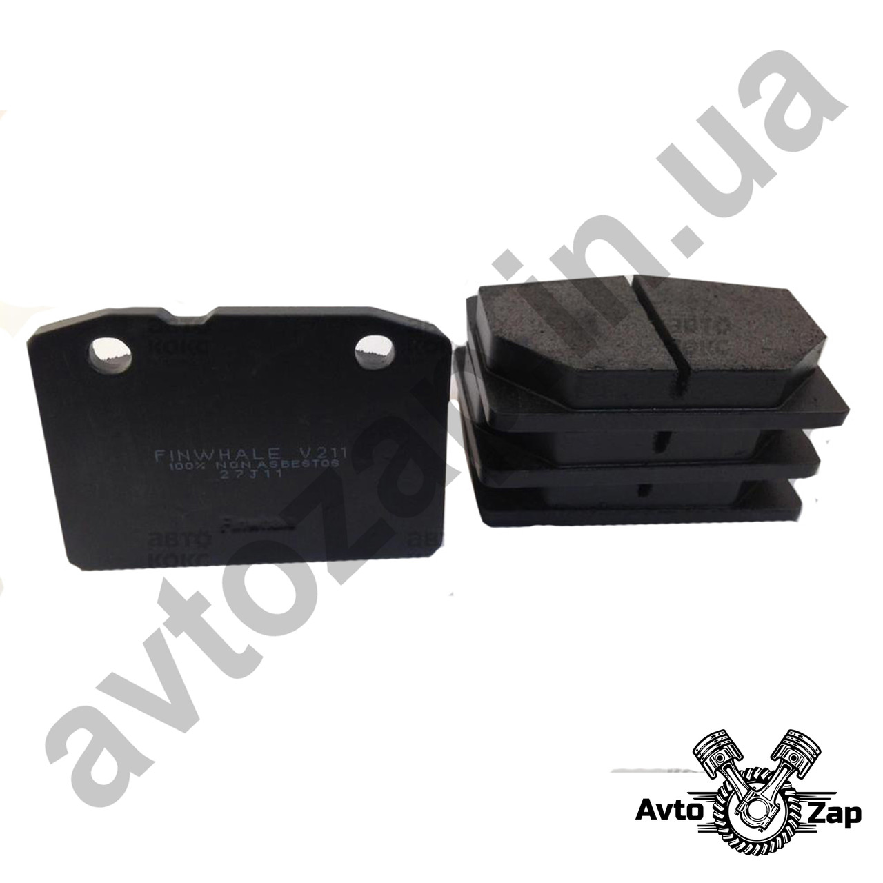Колодка тормозная передняя ВАЗ 2108-099,2113-15  к-т  17018
