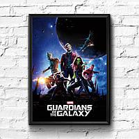 Постер с рамкой Стражи Галактики, Marvel #4