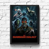 Постер с рамкой Стражи Галактики, Marvel #9