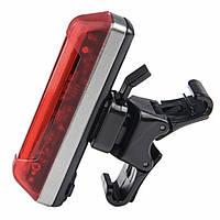 Фонарь велосипедный Velotrade габаритный задний BC-FL1231 красный LED, USB (LTSS-025)
