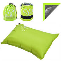 Подушка надувная подголовник для путешествий Подушка для отдыха и пляжа подушка под шею в самолет
