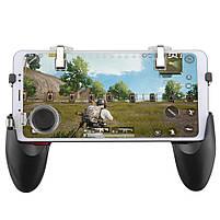 Джойстик для телефона 5в1 / Геймпад для смартфона 5in1 / Триггеры PUBG Mobile Black, фото 2