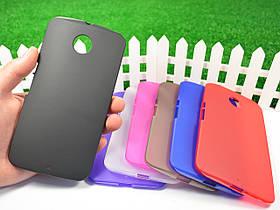 Силиконовый TPU чехол для Motorola Nexus 6 XT1103
