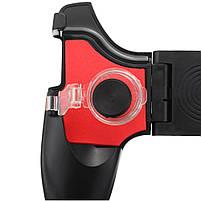 Джойстик для телефона 5в1 / Геймпад для смартфона 5in1 / Триггеры PUBG Mobile Black, фото 3