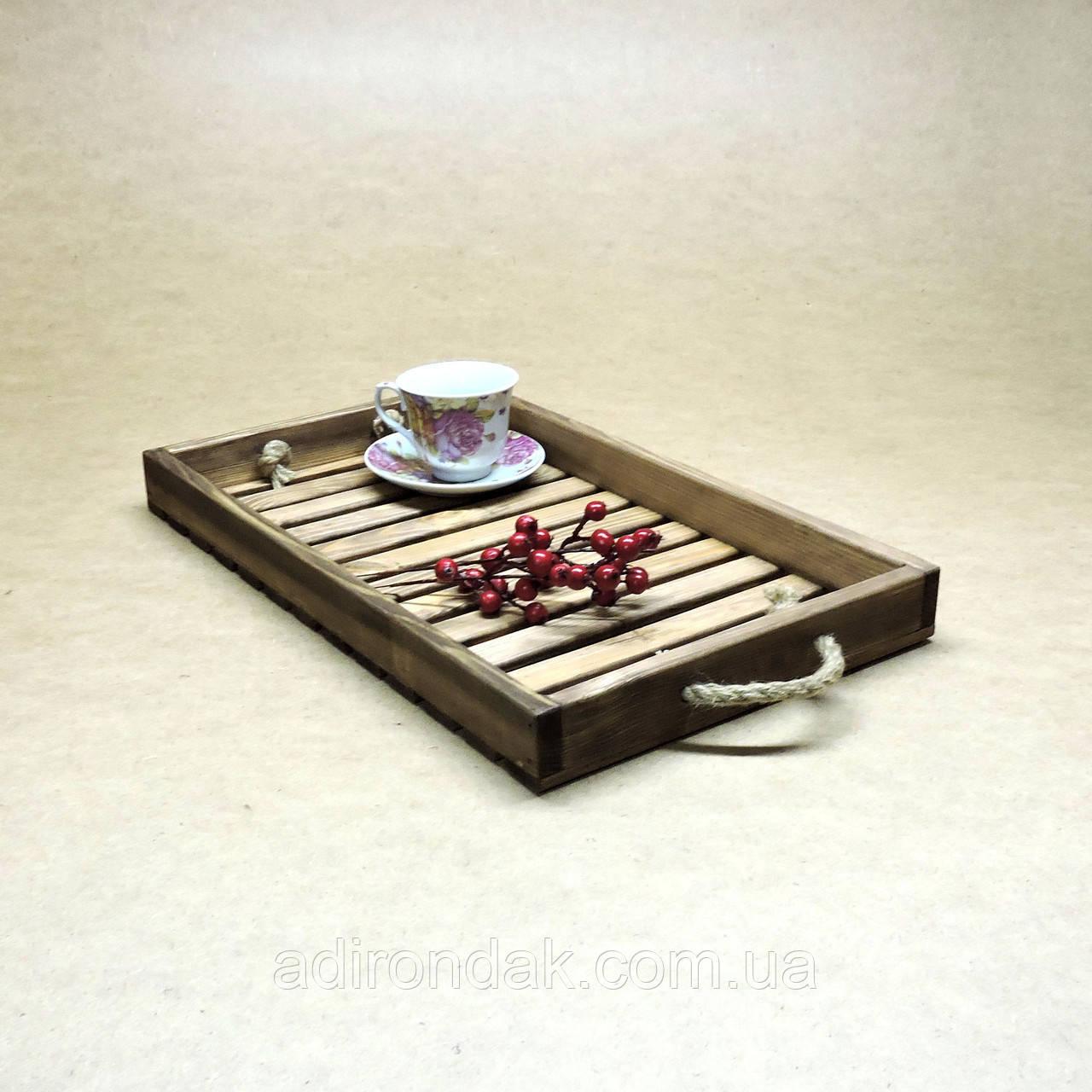 """Поднос деревянный """"Чай"""""""