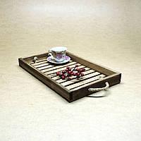 """Поднос деревянный """"Чай"""", фото 1"""