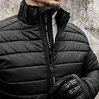 """Куртка (пуховик) """"DEFENDER"""" BLACK, фото 4"""