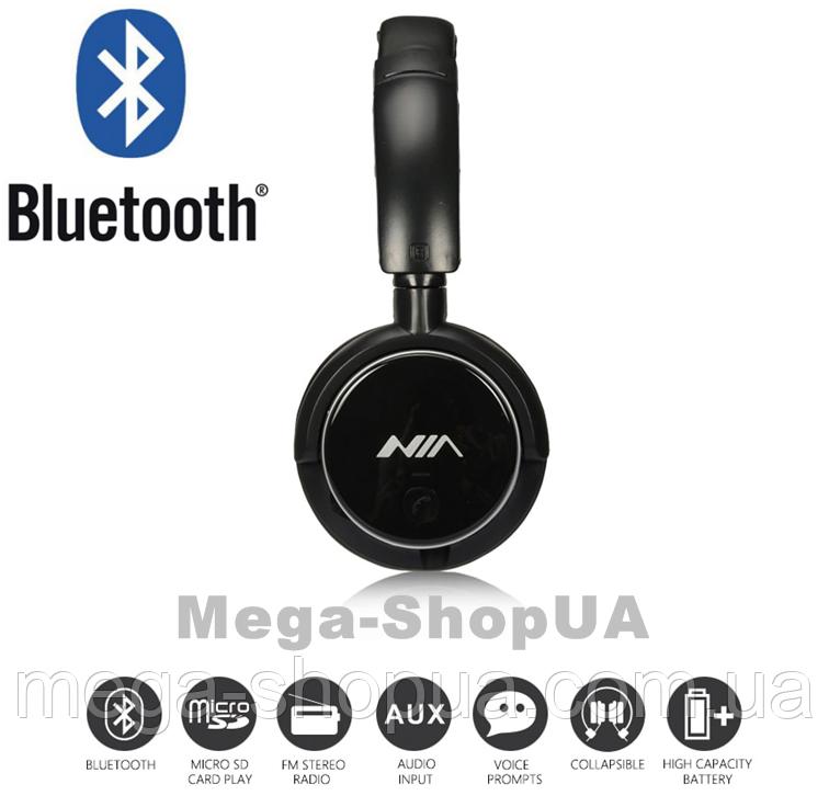 Наушники и гарнитура беспроводные Bluetooth Q1 / MP3 плеер / FM. Бездротові навушники. Блютуз наушники
