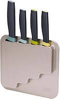 Набор из 4-х кухонных ножей Joseph Joseph DoorStore в блоке 5 предметов (10303)