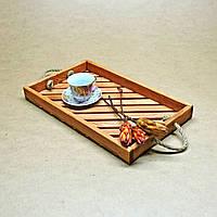 """Поднос деревянный """"Альфа"""", фото 1"""