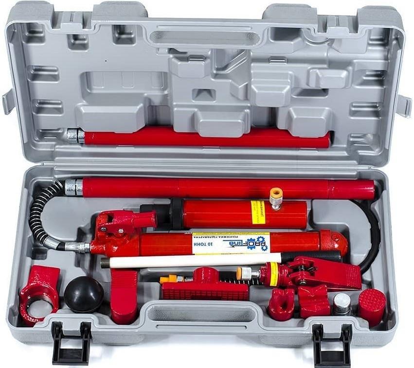 Растяжка гидравлическая(набор для рихтовки кузова) 10 тонн Profline 97060