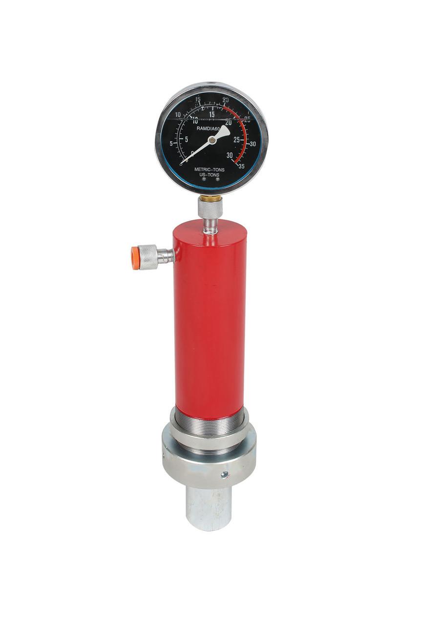 Цилиндр гидравлический(гироцилиндр) для пресса с манометром 10 тонн Profline 97310