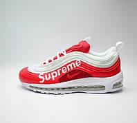 Кроссовки Nike Air Max 97 Supreme Red найк аир макс