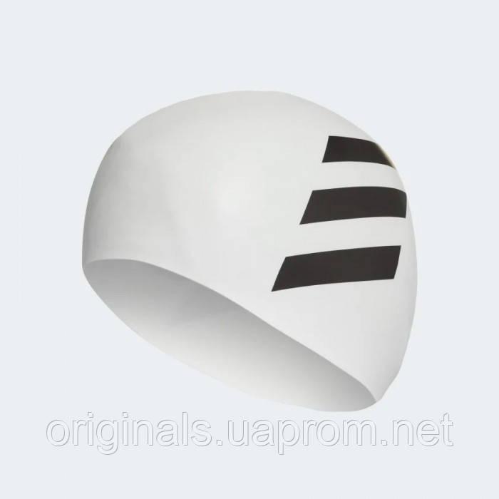 Плавательная шапочка Adidas 3-Stripes Silicone FJ4968