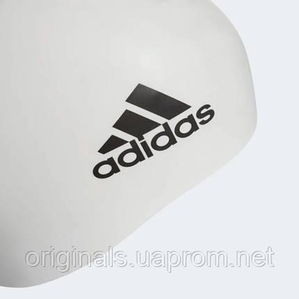 Плавательная шапочка Adidas 3-Stripes Silicone FJ4968, фото 2