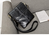 Мужская сумка-планшет Vormor через плечо с расширителем. Барсетка мужская КС123