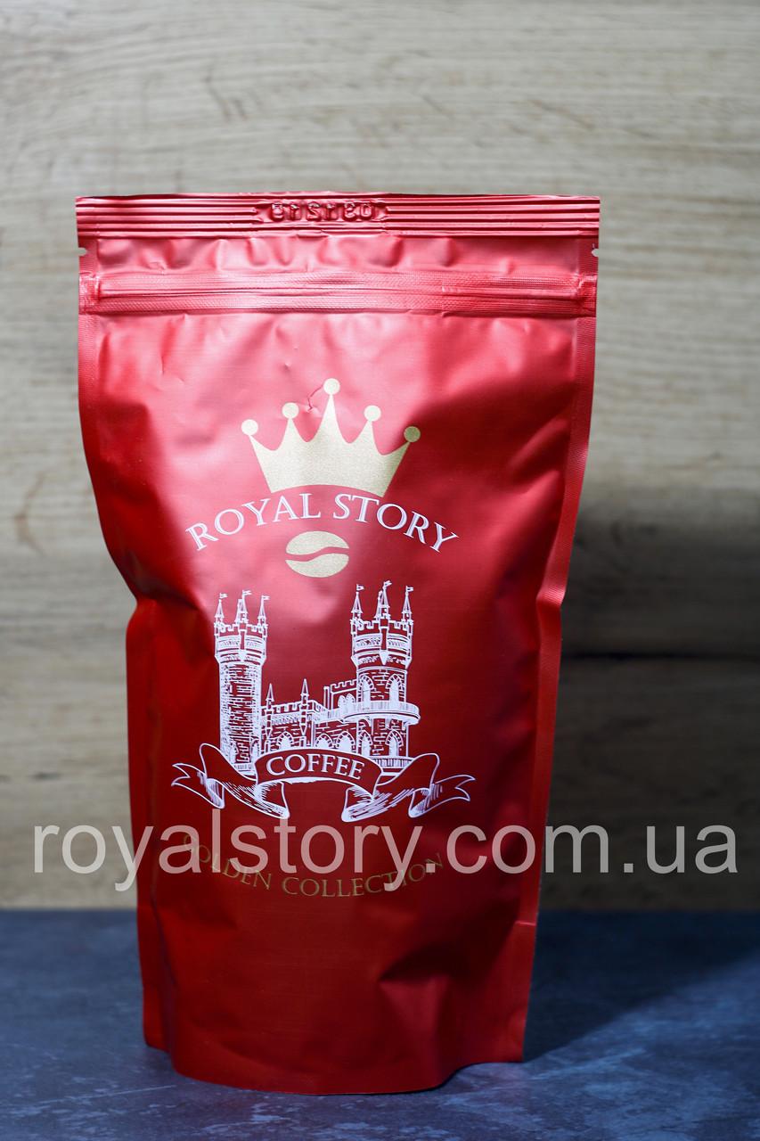 Кофе молотый Royal Story Red 250г смесь 50/50