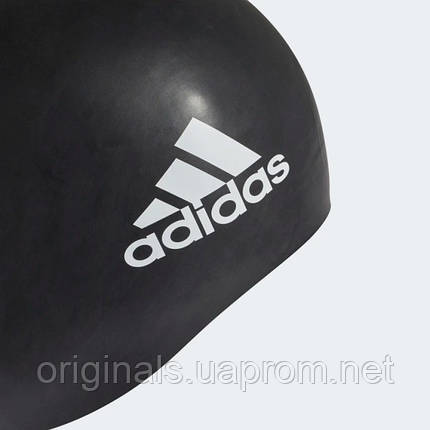 Шапочка для плавання Adidas 3-Stripes Silicone FJ4969 2019, фото 2