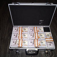 Доллары в кейсе чемодан с деньгами, фото 1