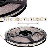 Белая светодиодная лента ip20 smd5630 60 диодов/метр теплый (3200К) премиум класса, фото 1