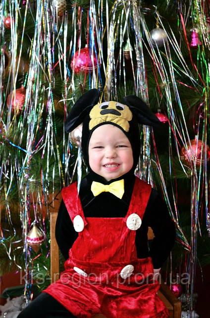 """Костюм """"Микки-Маус"""" для детей 2-4 года."""