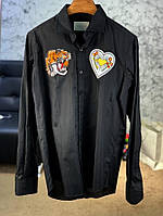 Shirt Gucci Tiger with Heart Black