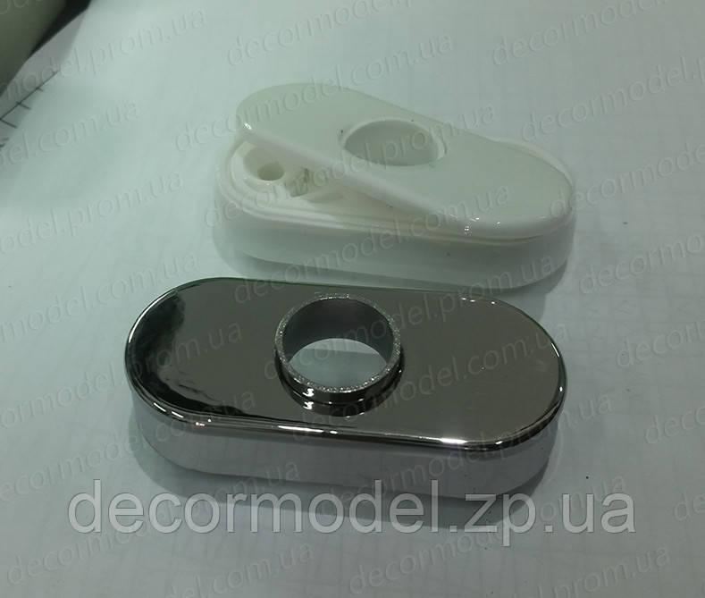 Металлизация АБС пластмассы (нанесение металлического покрытия на пластмассовые изделия, ПВД покрытие)
