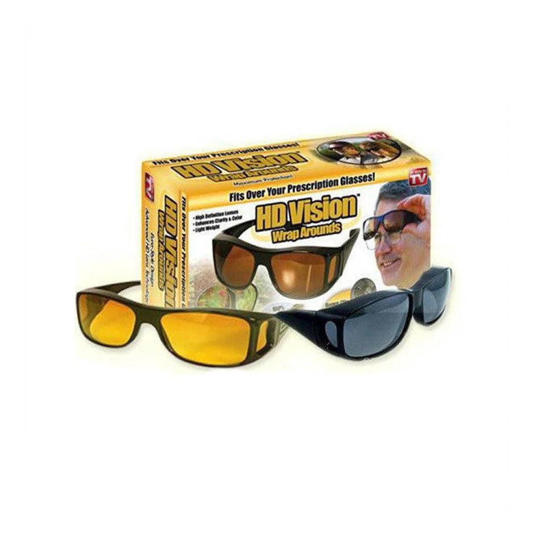 HD Vision Glasses Очки для дневной и ночной. Комплект 2 шт.