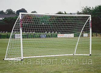 """Сітка для футбольних воріт 7,32х2,44; """"PROFI - """"0/1,05 М"""" (осередок """"10"""" см, Діаметр шнура - 4,5 мм)"""