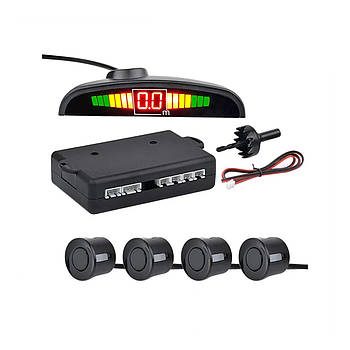 Парктроник на 4 датчика + дисплей Assistant Parking   парковочный радар   парковочная система