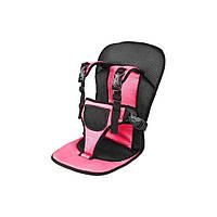 Детское автомобильное кресло, бескаркасное NY-26 - Розовый