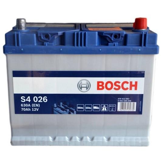 Аккумулятор Bosch S4 Silver 6СТ-70 Евро Азия
