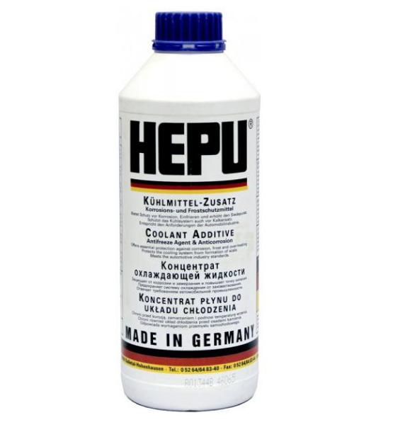 Антифриз концентрат HEPU P999 G11 (синий) 1,5л