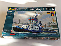 Revell 05213 Сборная модель буксира HARBOUR TUG BOAT FAIRPLAY в масштабе  1:144