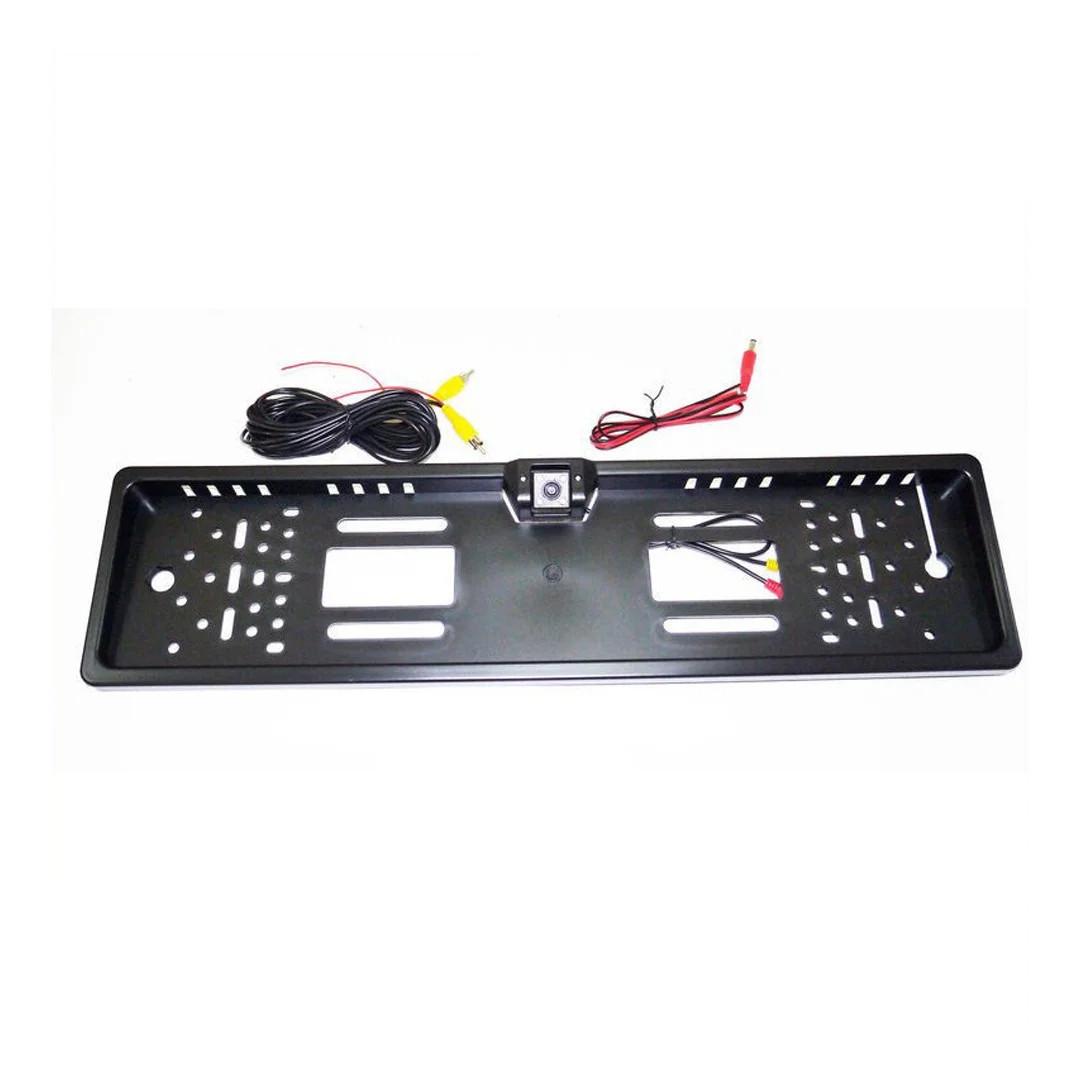 Камера Заднего Вида в Рамке Автомобильного Номера - Черная