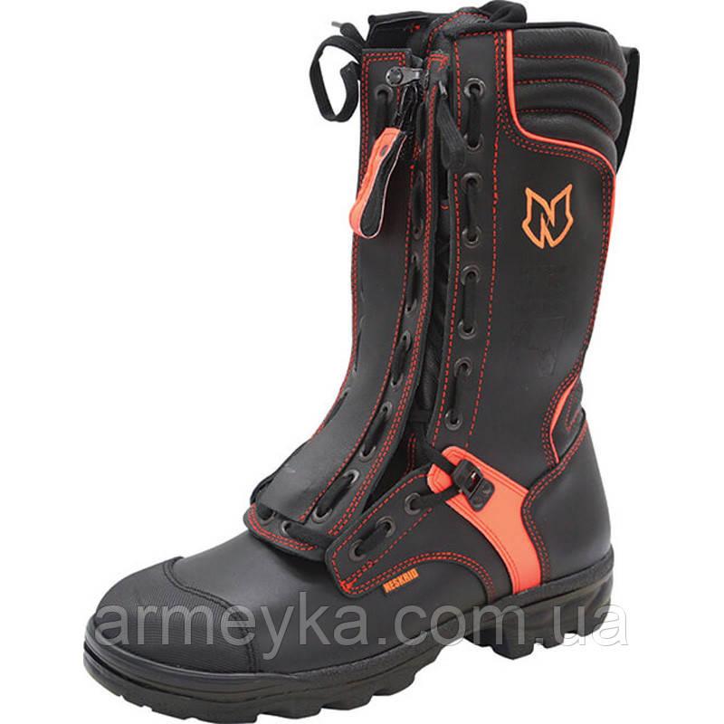 Вогнестійкі шкіряні пожежні взуття (берци) Neskrid NL Fire Boots. Нідерланди, оригінал.